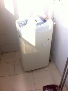 The washing machine in my apartment.